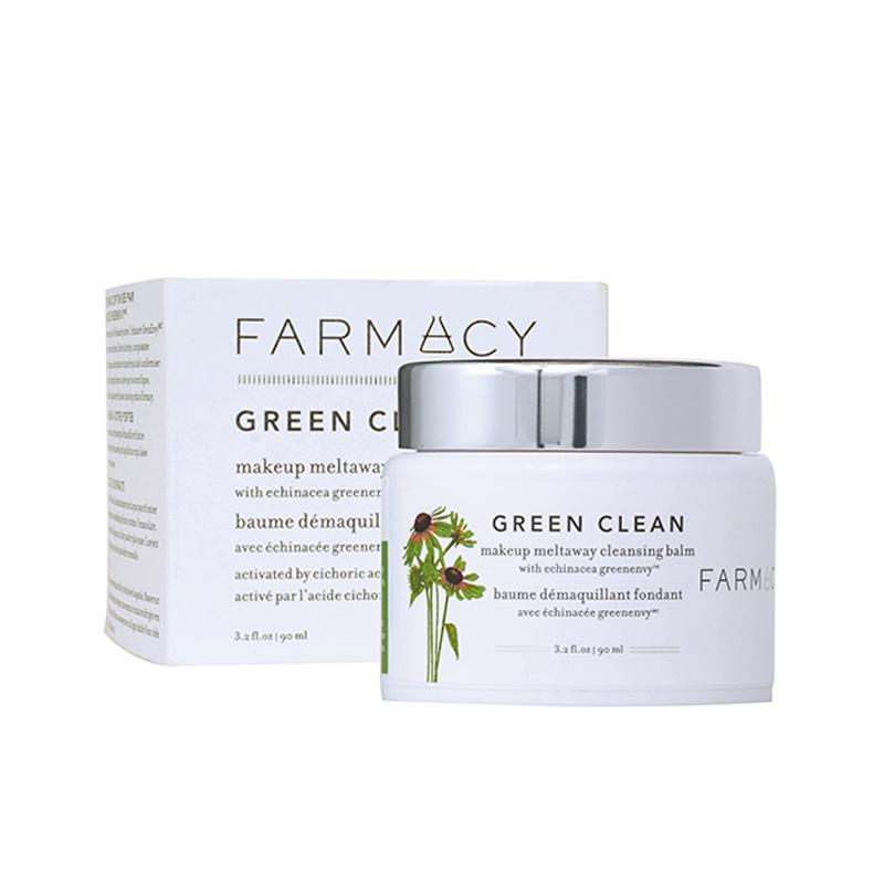 2.Farmacy Green Clean 天然深层清洁卸妆洁面膏