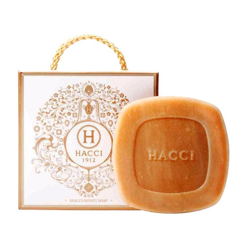 1.HACCI 蜂蜜洗颜皂